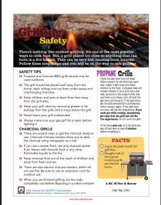 grilling flyer