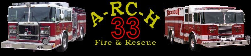 A-RC-H Fire & Rescue Logo